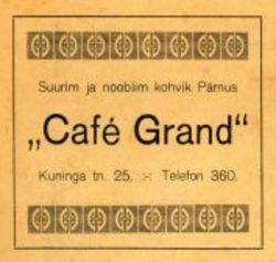 Cafe Grand kohvik